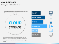 Cloud storage PPT slide 8