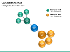 Cluster diagram PPT slide 16