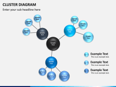 Cluster diagram PPT slide 4