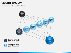 Cluster diagram PPT slide 9