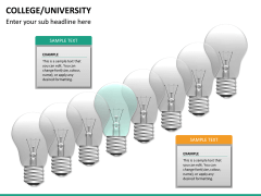 College/University PPT slide 20