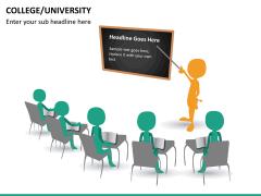 College/University PPT slide 13