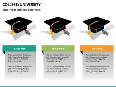 College/University PPT slide 15