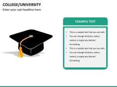 College/University PPT slide 16