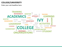 College/University PPT slide 17