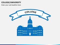 College/University PPT slide 1