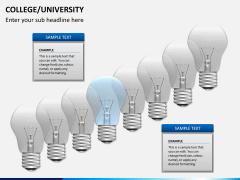 College/University PPT slide 10
