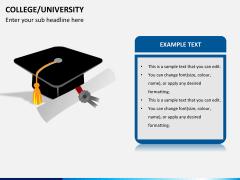College/University PPT slide 2