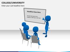 College/University PPT slide 4