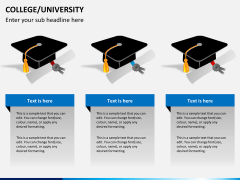 College/University PPT slide 5