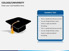 College/University PPT slide 6