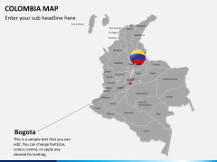 Colombia map PPT slide 13