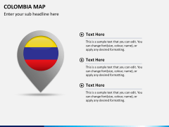 Colombia map PPT slide 15