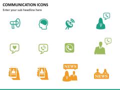 Communication Icons PPT slide 8