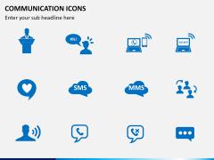 Communication Icons PPT slide 4