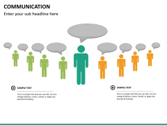 Communication PPT slide 25