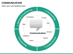 Communication PPT slide 20