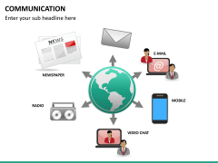 Communication PPT slide 21