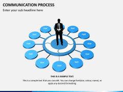 Communication process PPT slide 4