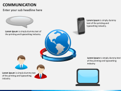 Communication PPT slide 10