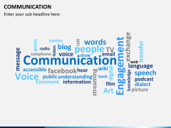 Communication PPT slide 12