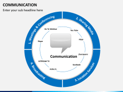 Communication PPT slide 6