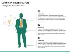 Company presentation PPT slide 27