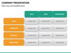 Company presentation PPT slide 33