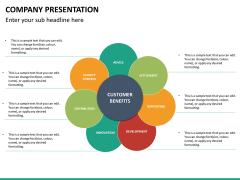 Company presentation PPT slide 34