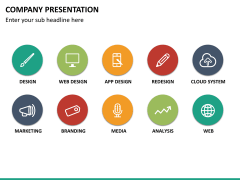 Company presentation PPT slide 20