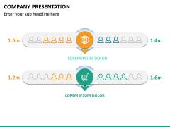 Company presentation PPT slide 21