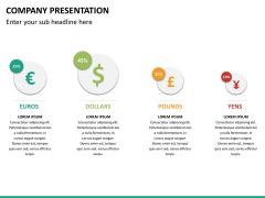 Company presentation PPT slide 22