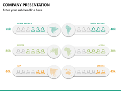 Company presentation PPT slide 23