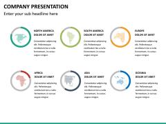 Company presentation PPT slide 24
