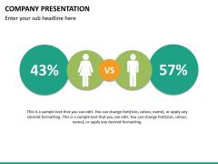 Company presentation PPT slide 25