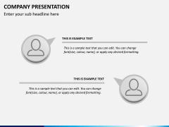 Company presentation PPT slide 14