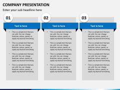 Company presentation PPT slide 15
