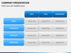 Company presentation PPT slide 16