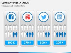 Company presentation PPT slide 9