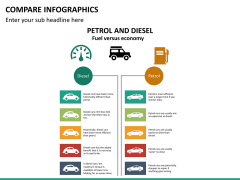 Compare infographics PPT slide 15