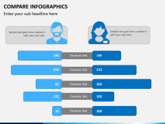 Compare infographics PPT slide 6