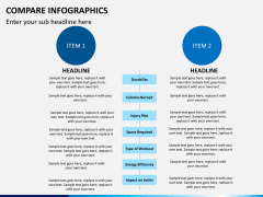 Compare infographics PPT slide 8