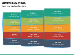 Comparison Tables PPT slide 27