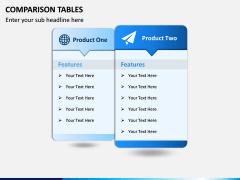 Comparison Tables PPT slide 3