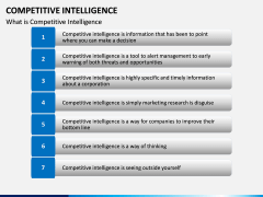 Competitive intelligence PPT slide 9