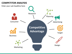 Competitor analysis PPT slide 22