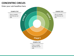 Concentric circles PPT slide  21
