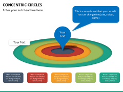 Concentric circles PPT slide  30