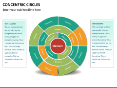 Concentric circles PPT slide  34