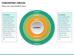 Concentric circles PPT slide  35